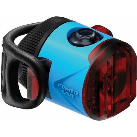 Lezyne LED Femto Drive StVZO Rücklicht blau rotes...