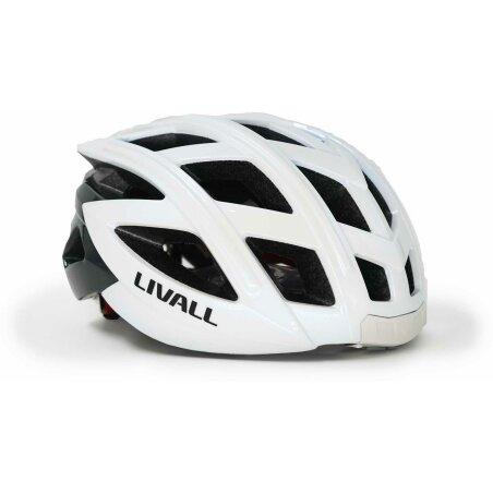 Livall BH 60 SE Helm + BR 80 Fernbedienung weiß
