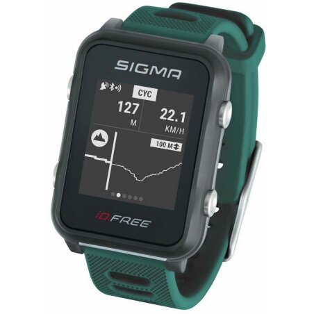 Sigma iD.FREE Multisportuhr grün