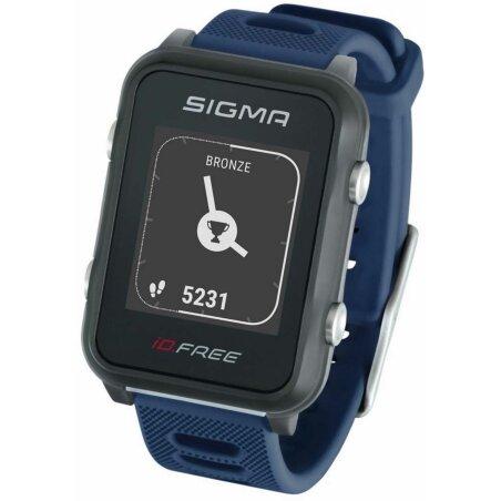 Sigma iD.FREE Multisportuhr blau