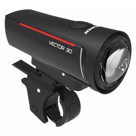 Trelock LS 300 I-GO® VECTOR 30 Frontlicht