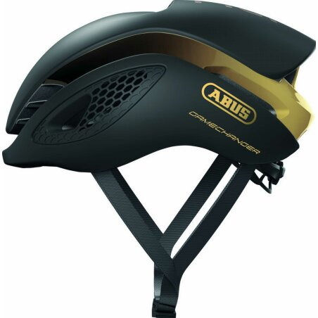 Abus GameChanger Rennrad-Helm black gold