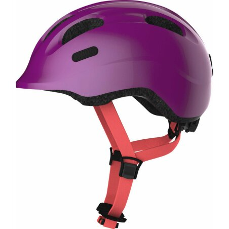 Abus Smiley 2.1 Kinder-Helm sparkling plum