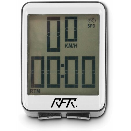 RFR Fahrradcomputer wireless CMPT white