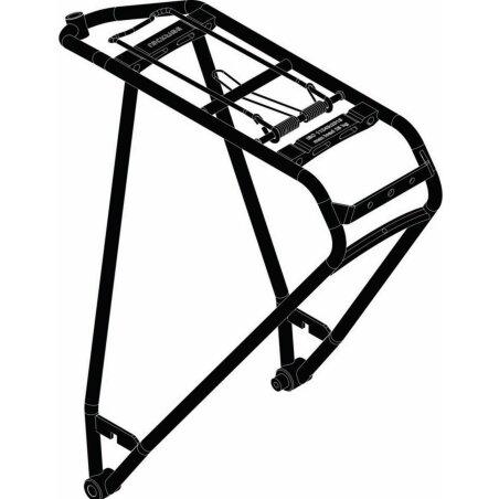 Scott AXIS E-Ride/Sub-Cross Gepäckträger black