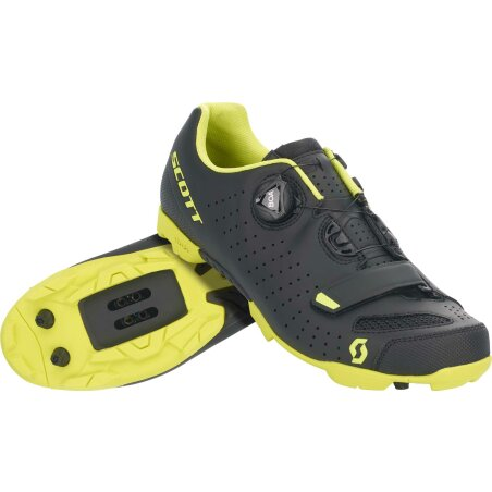 Scott Mtb Comp Boa Schuh matt black/sulphur yellow