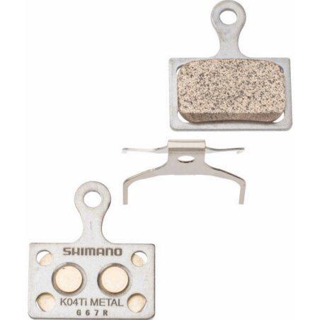 Shimano K04Ti Metall Scheibenbremsbeläge 1 Paar