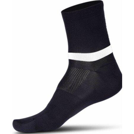 Cube Socke Mid Cut Blackline schwarz