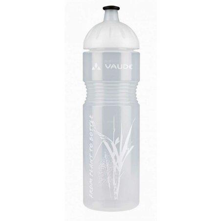 VAUDE Bike Bottle Organic, 0,75l transparent