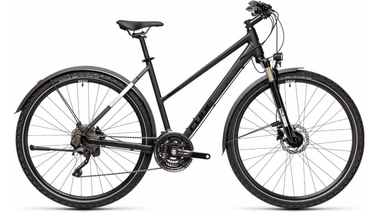Cube Nature EXC Allroad Trapeze black´n´grey