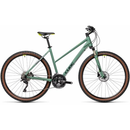 Cube Nature EXC Trapeze green´n´bluegreen