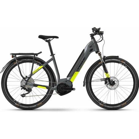 """Haibike Trekking 6 Low 27,5"""" cool grey/neon yellow"""