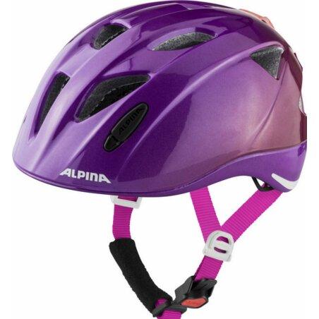 Alpina Ximo Flash Kinder-Helm berry gloss