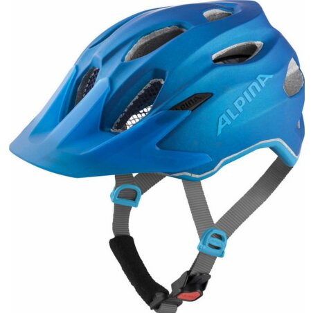 Alpina Carapax Junior Flash Kinder-Helm true-blue matt...
