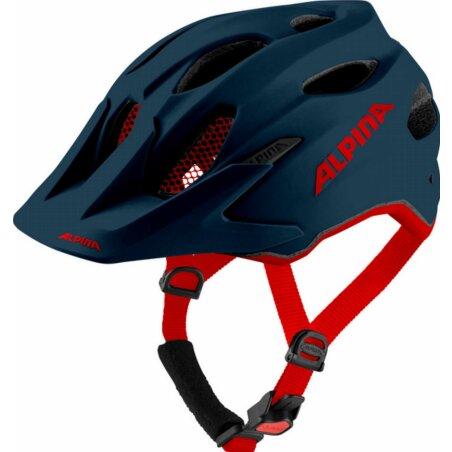 Alpina Carapax Junior Kinder-Helm indigo matt 51-56 cm