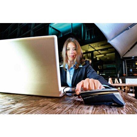 Trelock LS 950 CONTROL ION Akkufrontleuchte 70 Lux schwarz
