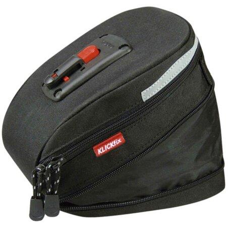KLICKfix Micro 200 Expandable Satteltasche schwarz