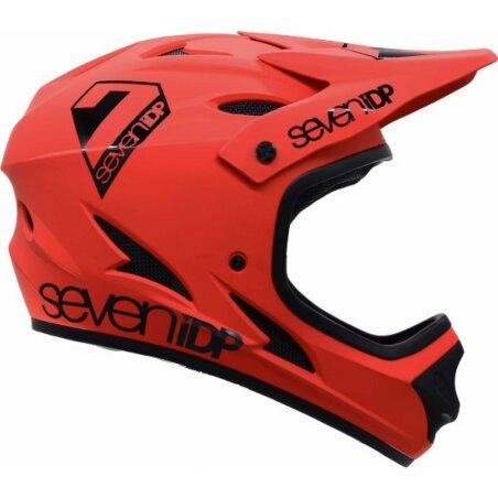 7iDP Helm M1 für Jugendliche rot-schwarz