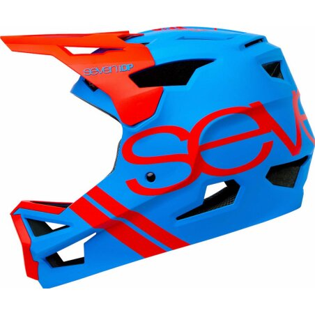 7iDP Helm Project 23 ABS blau-rot