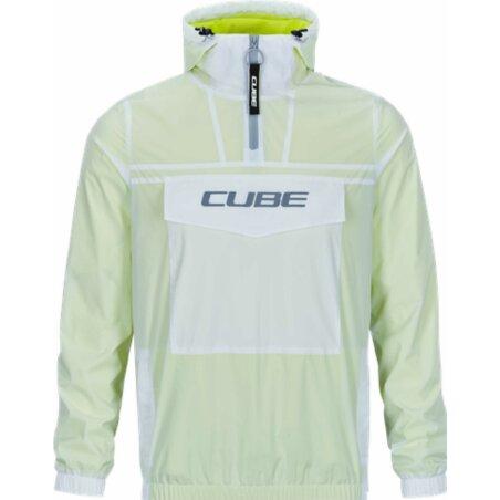 Cube Pullover Jacke grey´n´neon yellow