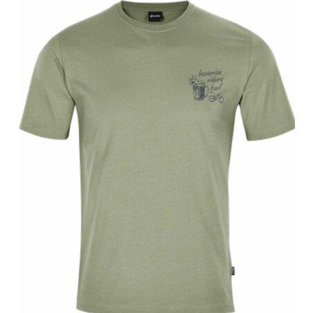 Cube Organic T-Shirt Riders Fuel olive