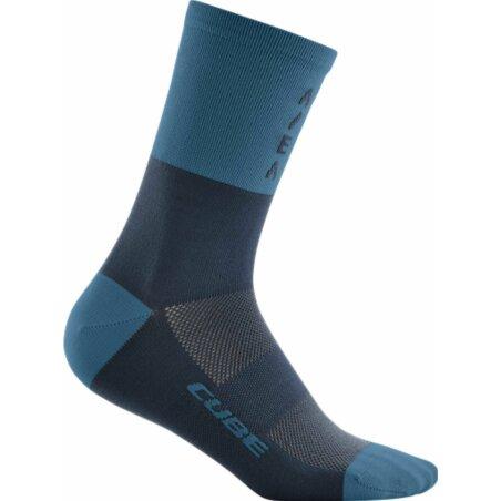 Cube Socke High Cut ATX blue