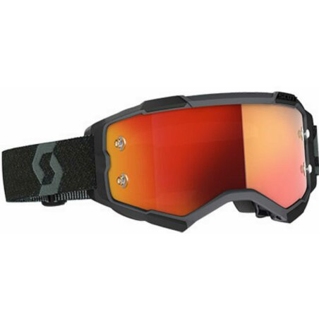 Scott Fury MTB Brille black orange chrome works