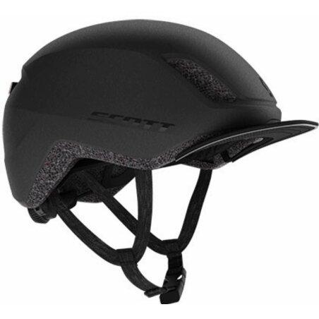 Scott IL Doppio Plus Helm granite black