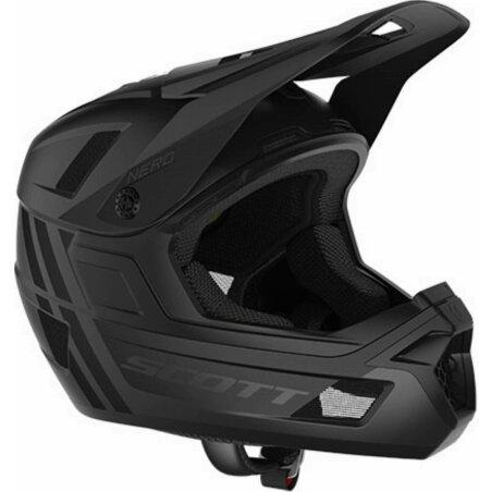 Scott Nero Plus Helm stealth black