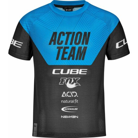 CUBE Junior Trikot kurzarm X Actionteam...