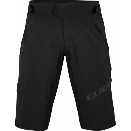 CUBE Edge Baggy Shorts X Actionteam black