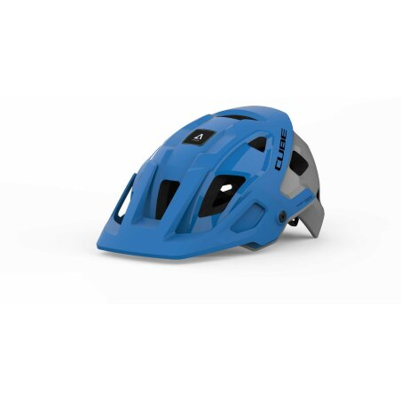 CUBE Helm STROVER X Actionteam blue´n´grey