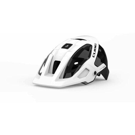 CUBE Helm STROVER white´n´black