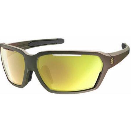 Scott Vector Sonnenbrille komodo green gold chrome