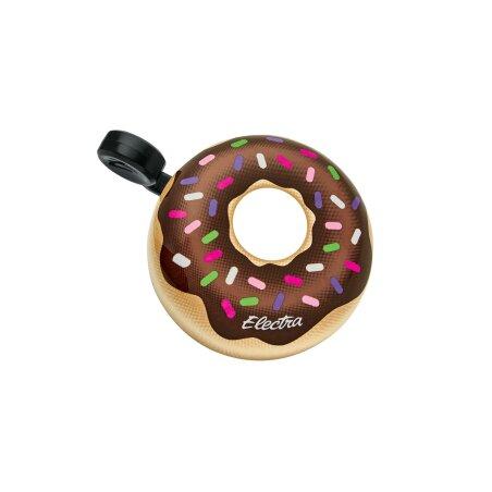 Electra Domed Donut Fahrradklingel brown/pink