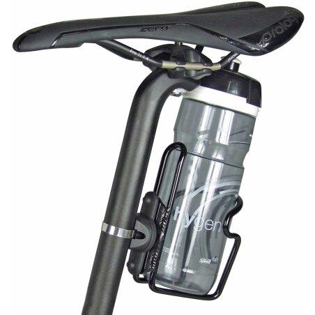 KLICKfix Bottlefix Flaschenhalter-Adapter schwarz
