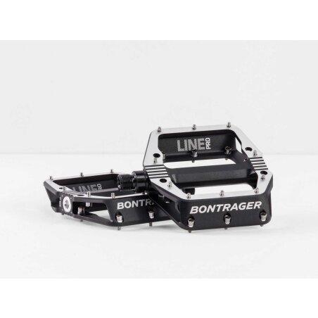 Bontrager Line Pro MTB-Pedale black/polished silver