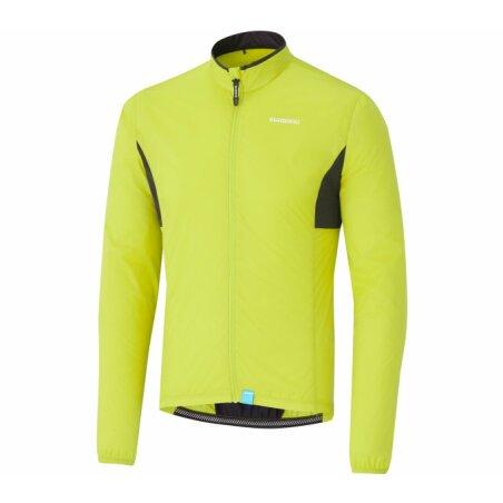 Shimano Compact Windbreaker Jacke neon yellow