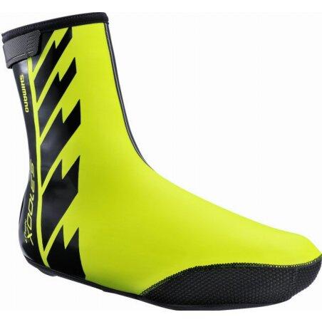 Shimano S 3100 X NPU+ Shoe Cover Überschuhe neon yellow