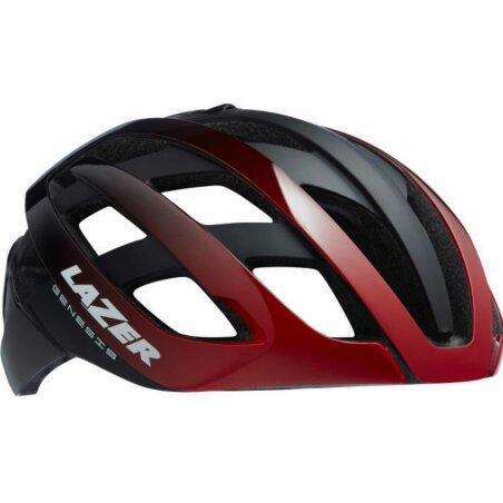 Lazer Genesis Helm red black