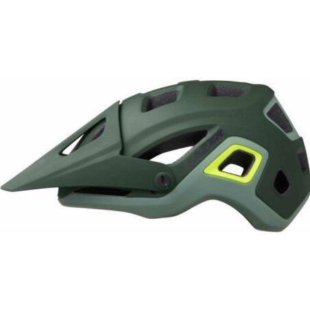 Lazer Impala Helm matte dark green flash yellow