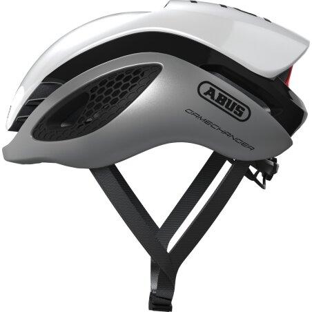 Abus GameChanger Rennrad-Helm silver white