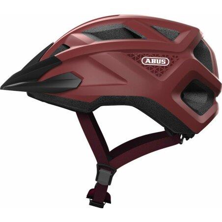 Abus MountZ Kinder-Helm russet red