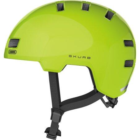 Abus Skurb Helm signal yellow