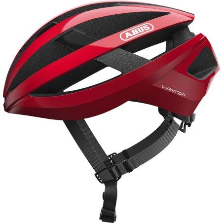 Abus Viantor Rennrad-Helm racing red