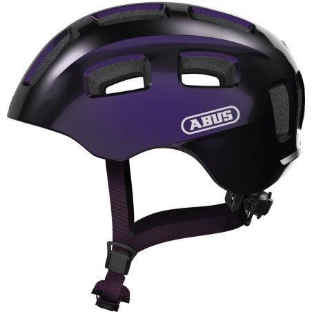 Abus Youn-I 2.0 Kinder-Helm black violet