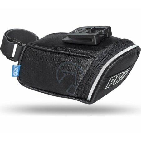 PRO Satteltasche Mini mit Klick-Halterung schwarz 0,4 L