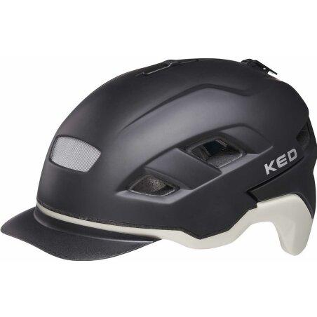 KED Berlin Helm black ash matt