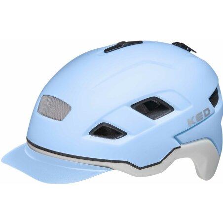 KED Berlin Helm lightblue ash matt