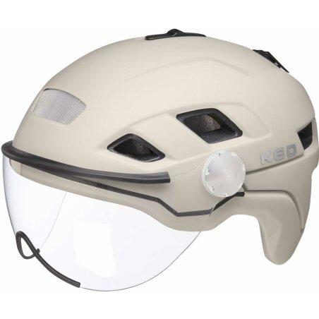 KED B-Vis X-Lite Helm ash matt